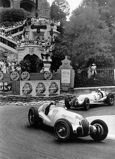 Mercedes-Benz W 125 @ 1937 Monaco Grand Prix
