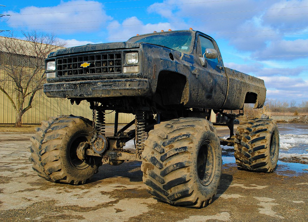 Lifted Chevy Trucks >> Lifted Chevy Silverado Lake Villa Illinois Cragin