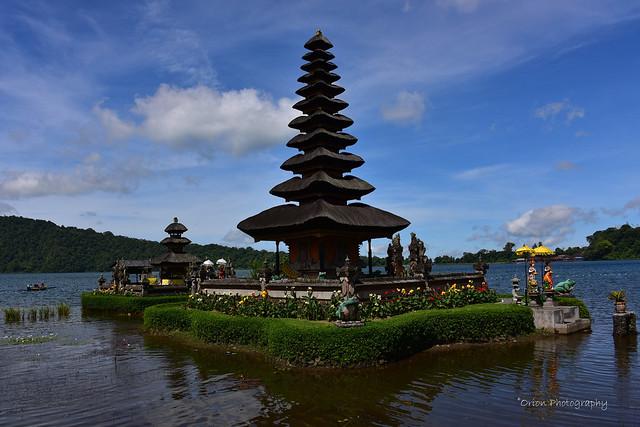Pura Bratan temple, Bali, Indonesia