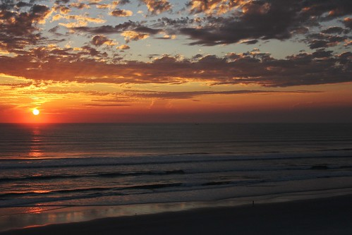 ocean beach clouds sunrise canon eos coast day waves florida cloudy horizon daytonabeach atlanticocean 550d canoneos550d