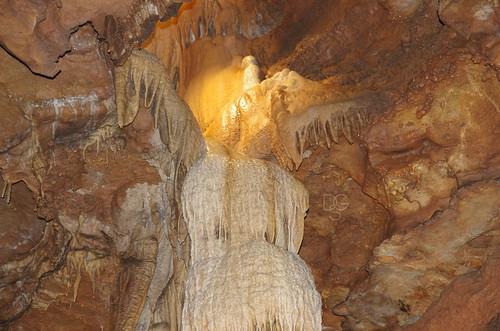 water angel flash formation missouri limestone cave cavern branson calcite sooc talkingrockscavern