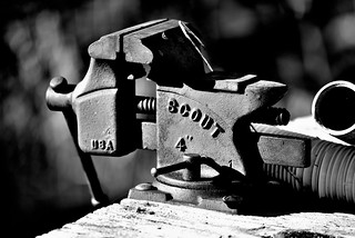 "4"" Scout vise made in U.S.A. 
