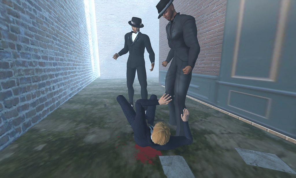 gang violence o.O mobster beatdown