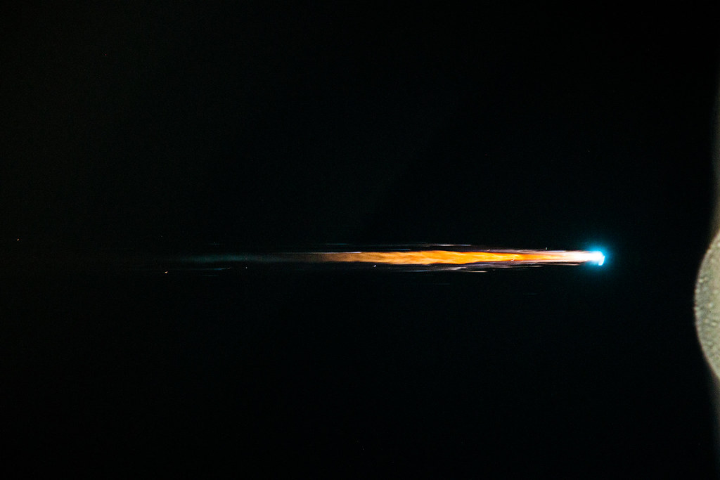ATV Albert Einstein burns up on reentry into Earth's atmosphere