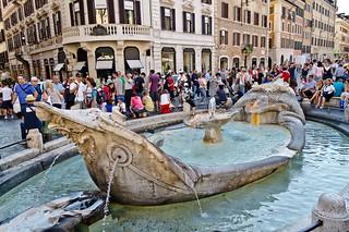 Fountain of the Barcaccia | by Alessio Nastro Siniscalchi
