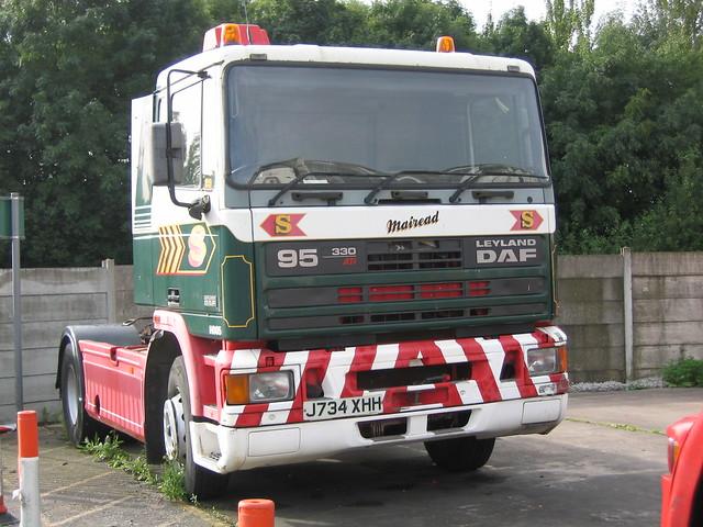 J734XHH H005 Eddie Stobart Leyland DAF 'Mairead'
