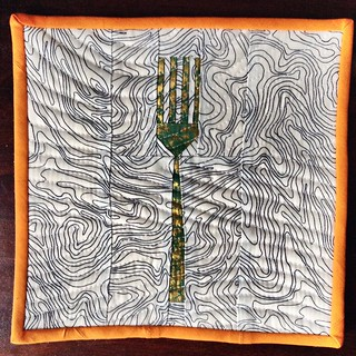 Another fork in the potholder