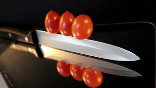 #food ...on a knife #edge | by © mpg