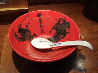 Chocolate Ramen @ Menya Musashi Niten @ Ikebukuro