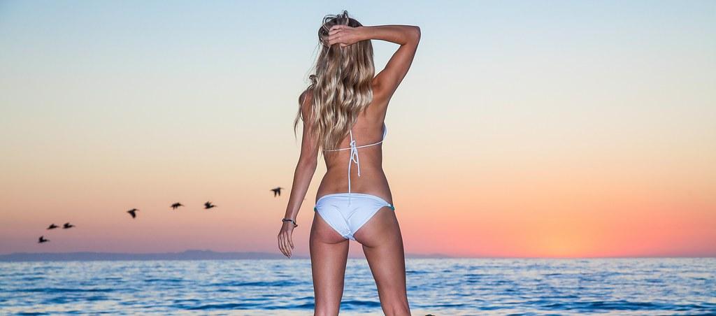 Return blonde bikini girl magic opinion you