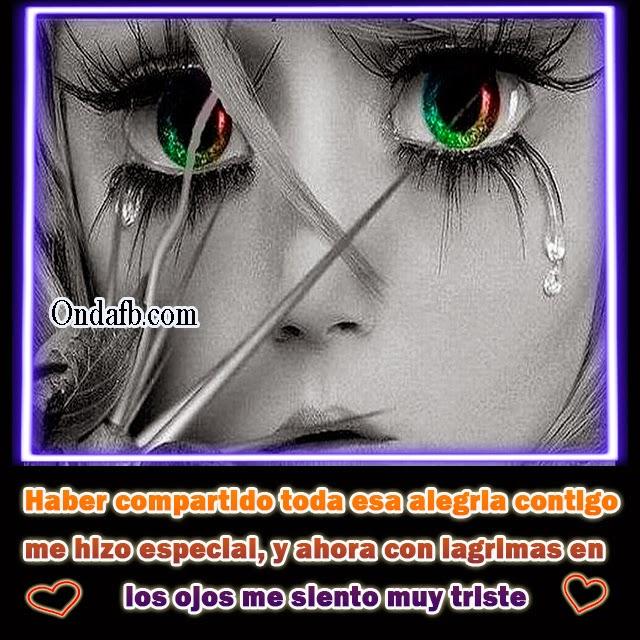 Imagen De Una Persona Enamorada Con Frase Triste De Amor P