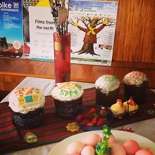 С Праздником Светлой Пасхи! Happy Easter  @beffest @tiffmartha @nastyasonnaya #easter #petrozavodsk #spring #april #beffest #tiff2014 #velove #film #festival #ecology
