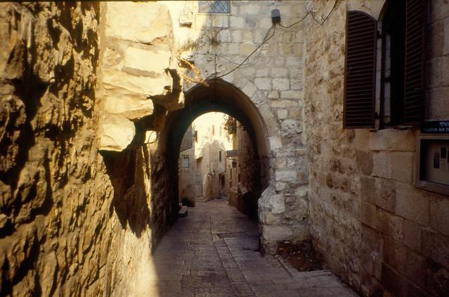 Old City, Jerusalem, 1995