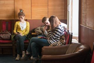 8 апреля 2016 года в Литинституте в рамках XXVIII Пуришевских чтений прошли два круглых стола: заседание Байроновской мастерской на тему 'Байрон в изгнании' и круглый стол, посвященный обсуждению романа Сергея Есина 'Ленин. Смерть титана'.
