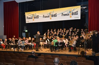 Lilla Brassbandfestivalen 2013 - Per Engström leder Massed Band