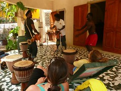 Senegal Drum session