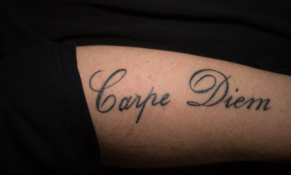 Carpe Diem Tattoo Dave Coleman Flickr