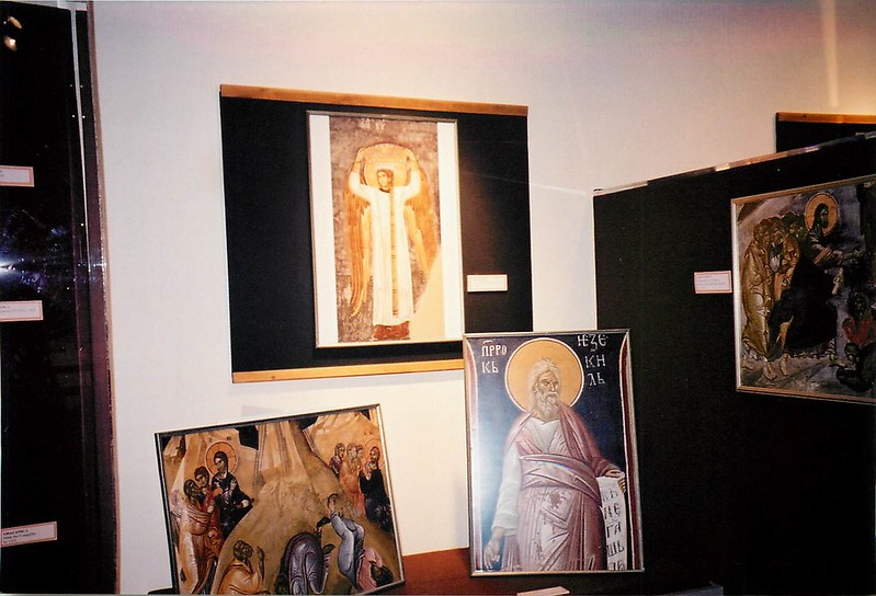 Frescoes from Monasteries of Kosovo and Metohija - September 15, 2001