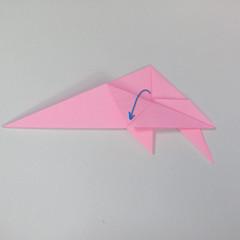 สอนการพับกระดาษเป็นลูกสุนัขชเนาเซอร์ (Origami Schnauzer Puppy) 048