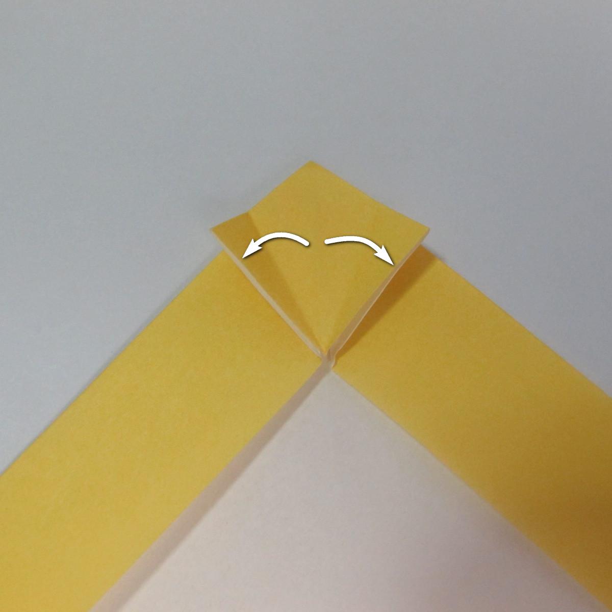สอนวิธีพับกระดาษเป็นรูปลูกสุนัขยืนสองขา แบบของพอล ฟราสโก้ (Down Boy Dog Origami) 019