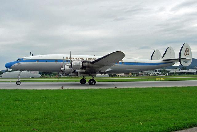 Breitling Lockheed L-1049 N73544