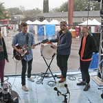 Sat, 15/03/2014 - 12:05pm - The London band joins us on a rainy morning to perform 'Unkinder (A Tougher Love)' on a wet and backwards stage. Photo by Laura Fedele