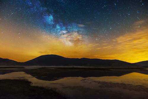 lake lago nightscape 16mm milkway rascino d800e