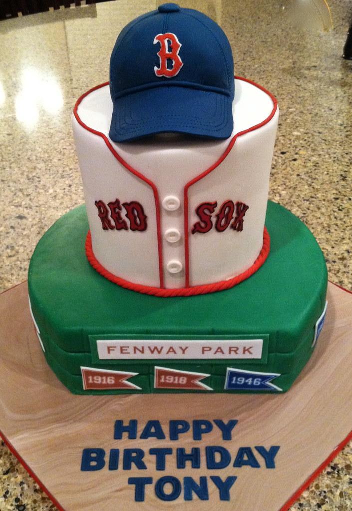 Boston Red Sox birthday cake | Happy 40th birthday, Tony! | Flickr
