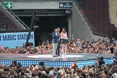 Summertime Ball 2013: Justin Timberlake, Dave Berry & Lisa Snowdon