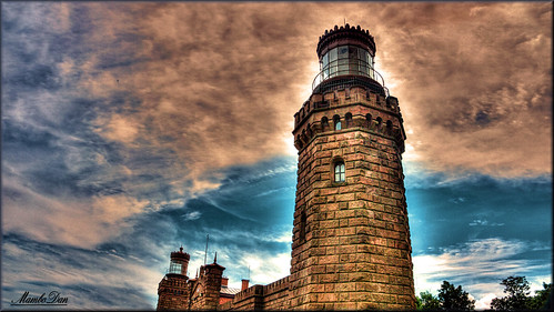 travel lighthouse newjersey nj historic historical monmouthcountynj twinlightslighthouse twinlight