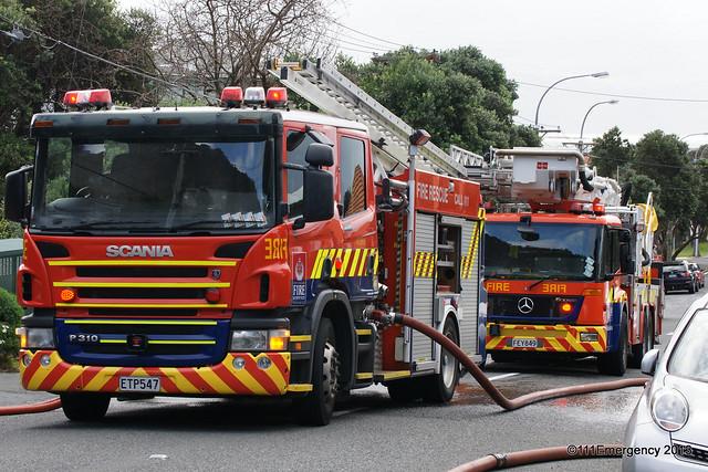 House Fire - Seatoun
