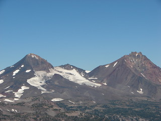 Middle and North Sister