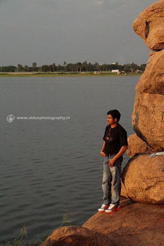 Its me (Akbar - Web Designer and Photographer)...Ameenpur Lake | by Akbar - Web Designer and Freelance Photographer