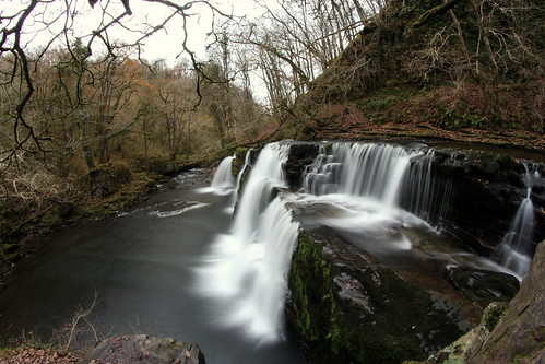 winter tree water wales canon river waterfall fisheye brecon 8mm cascade ystradfellte samyang waterfallwalk 60d