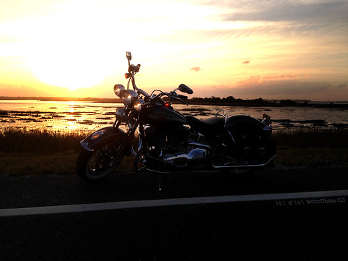 sunset springer 365 project365 cameralife whiplashbikerphotog bikerlife soffordphotos