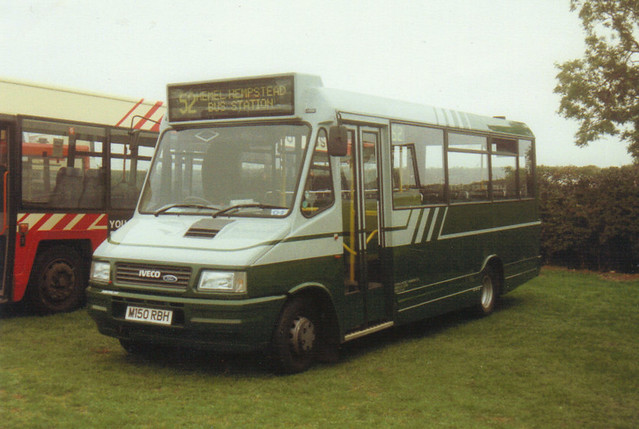 IV150 (1), M150 RBH, Iveco 59.12 Turbo Daily, Marshall Body B29F, 1994 (t.1994)