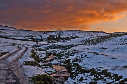winter sunrise nikon teesdale langdonbeck theyorkshiredales pd1001 d7000 pauldowning pauldowningphotography