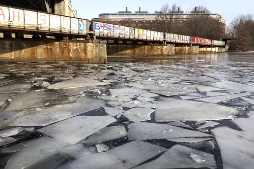 River ice breaking up | by -nanio-