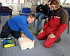 NPP staff defibrillator training