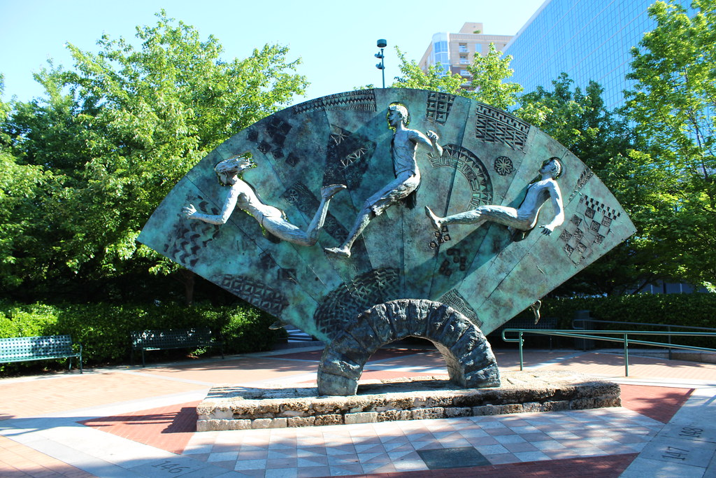 Atlanta - Olympic Centennial Park: Tribute to Olympism and…   Flickr