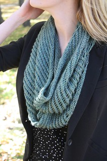 Licorice Twist Cowl | by Everyday Fray