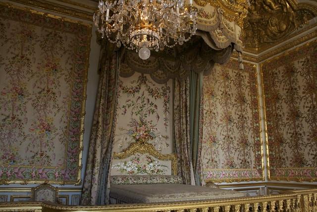 Le chambre de la Reine
