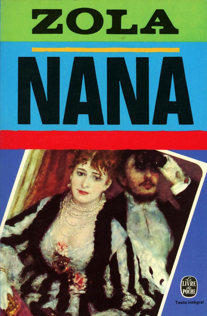 Livre De Poche 50 Emile Zola Nana Emile Zola Nana