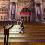 Emily and the Met steps