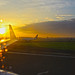 Sunrise before Take-off