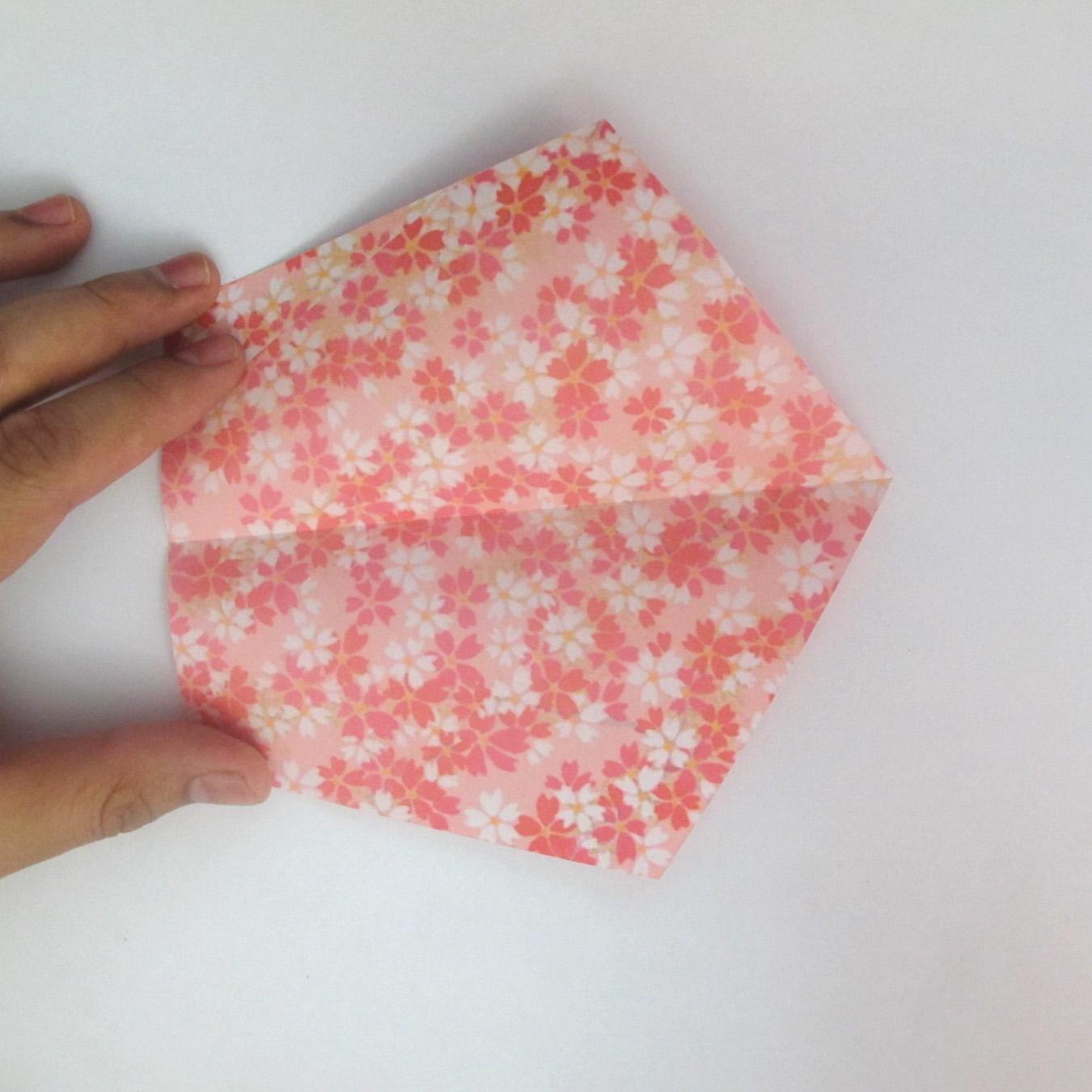 สอนวิธีการพับกระดาษเป็นดอกมะเฟือง (Origami Carambola) 003