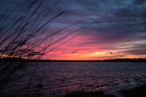 lake water clouds sunrise sony a77 2014 zorinsky