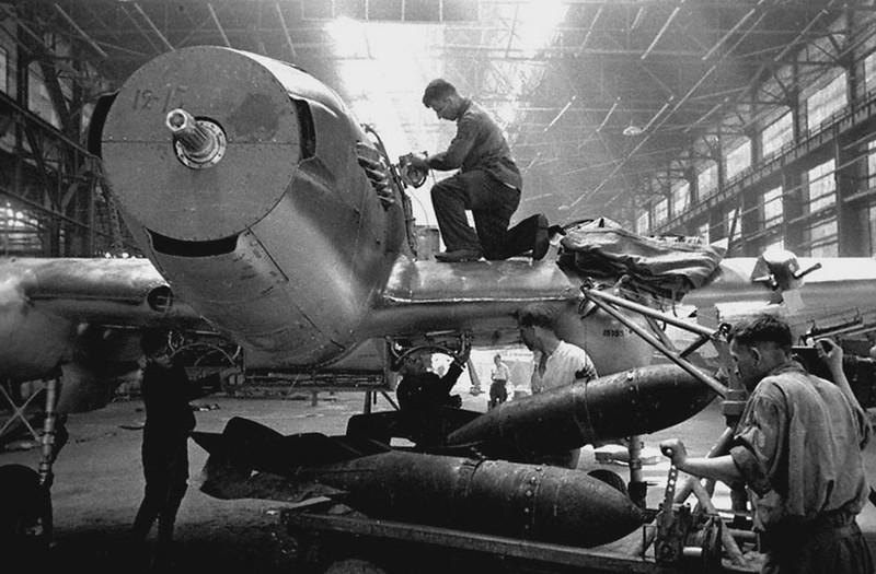Ilyushin fighter aircraft factory