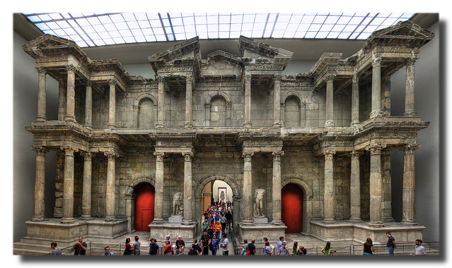Berlin - Pergamonmuseum - Market Gate of Miletus 02
