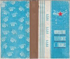 NUMRATORI TELEFONIK I TIRANES I VITIT 1971.